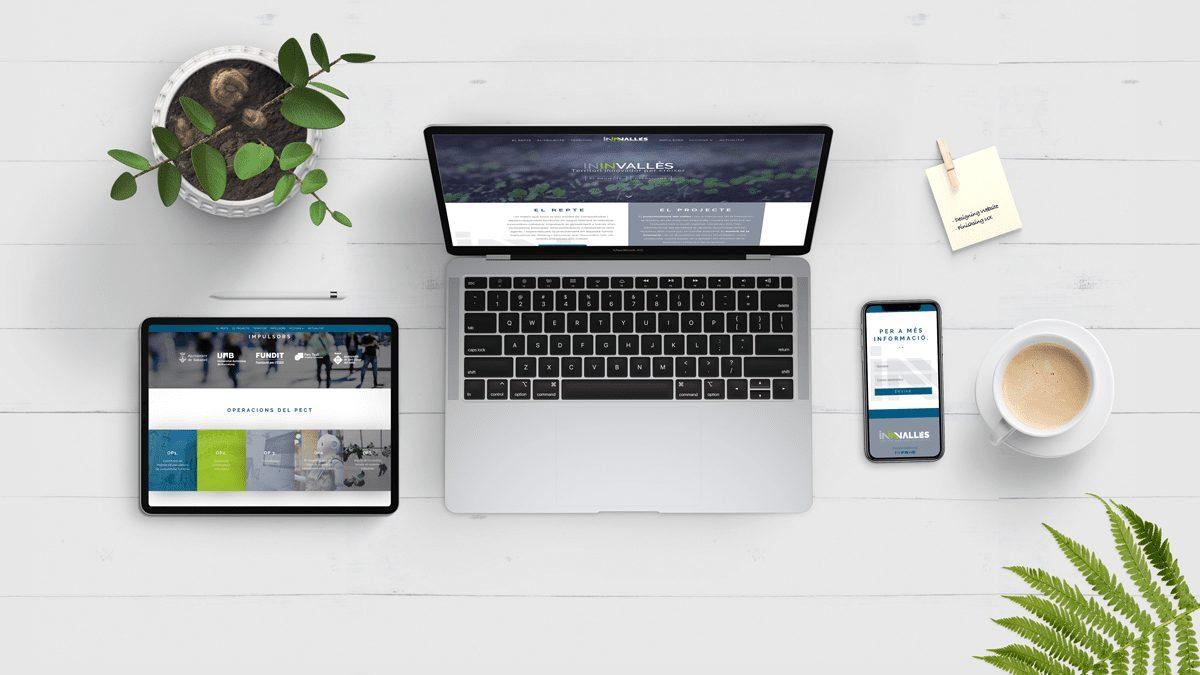 Nova web d'ININVallès per donar visibilitat al projecte i les seves accions