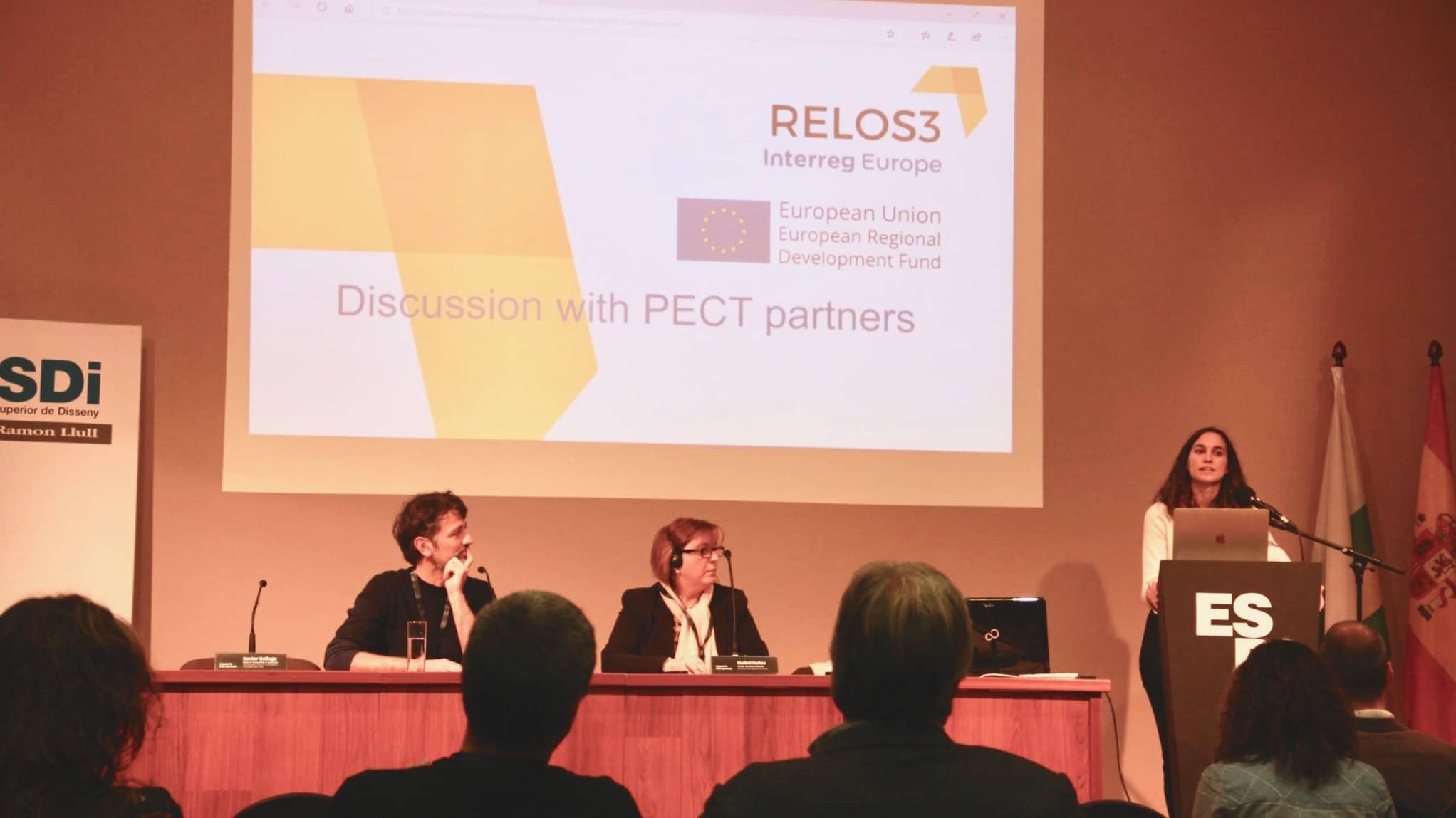 ESDi acull la trobada del projecte europeu RELOS3