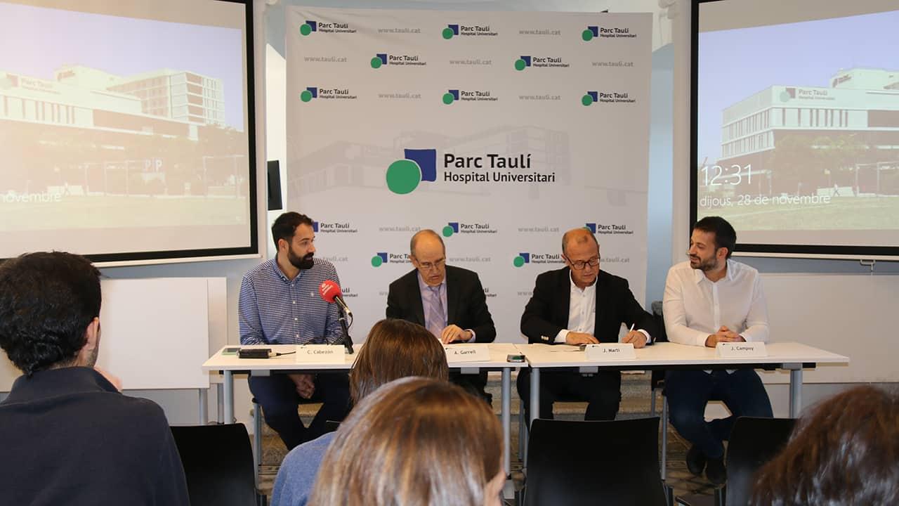 Parc Taulí i ESDi s'agermanen per liderar projectes d'innovació